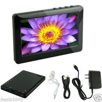 "4.3"" LCD Screen 8GB MP5 Player Digital Video Movie MP3 MP4 FM Radio Recorder SD"