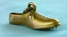 Antique 10k Gold Track/Football/Golf Cleat Athletic Shoe Charm for Bracelet 3.7g
