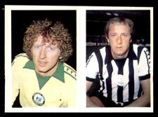 Daily Star (1980-81) Football - 328) Martin & 323) John Brownlie (Newcastle)