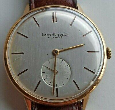 Girard Perregaux Manuale Oro 18 Kt Watch Montre Reloj Uhr