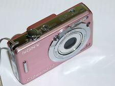 Sony cyber-shot dsc-w55 7,2 mp appareil photo numérique-rose