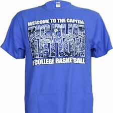 University of Kentucky UK Wildcats Big Blue Nation on Blue T Shirt