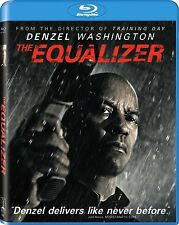 THE EQUALIZER BLU-RAY - SINGLE DISC EDITION - NEW UNOPENED - DENZEL WASHINGTON