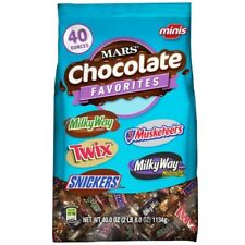 M&M's Chocolate Candies Stand up Pouch Milky Way - 40 Oz.