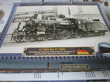 Lokarchiv Dampfloks 155 13 1801-13 1803 ex oldenburgische S 3 DRG 1903