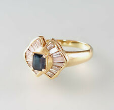 8425078 750er GG Gold Ring Saphir Diamant Gr.57