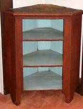Hanging corner cupboard 1800'S ANTIQUE