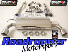 Milltek Golf R32 MK4 Exhaust Manifolds Decats & Cat Back Non Res System GT100