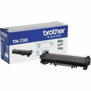 Brother TN730 Black Toner Cartridge Standard Yield