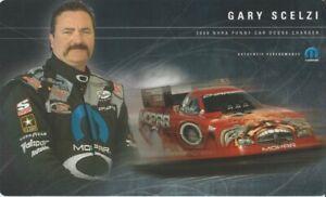 2006 Gary Scelzi Mopar Oakley Dodge Charger Funny Car NHRA postcard