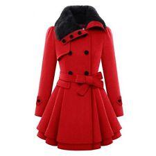 Fashion SP Women Warm Slim Coat Jacket Thick Parka Overcoat Long Winter Outwear