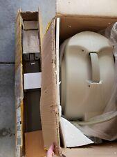 "Frontgate 100' x 1/2"" beige taupe Retractable Hose Reel Auto Rewind w/ Post"
