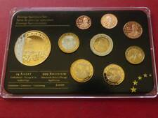 "Northern Ireland - Prestige Specimen Set 2012 ""Titanic"", Rhodium & 24-K-Gold"