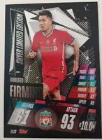 2020/21 Match Attax UEFA Champions League - Roberto Firmino Silver Limited LE1S