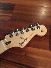 "2019 Fender Stratocaster Spec Edition Player Strat Neck Maple 9.5"" Radius Tuners"