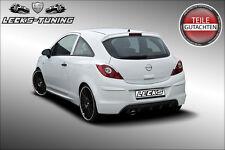 LECKS-TUNING Opel Corsa D hintere Rückleuchtenblenden Böser Blick Blenden