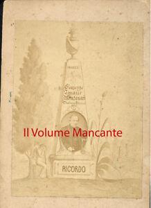 Faenza: Fotografia ricordo di Giuseppe Ignazio Montanari 1871(?)
