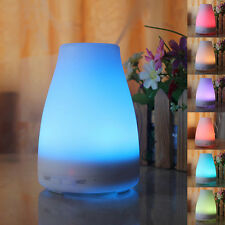 100ML Electric Oil Essential Burner Aroma Diffuser Humidifier Air Purifier Led