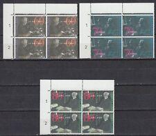 Niederlande 1991 ** Mi.1418/20 Bl/4 Nobelpreis nobel prize Asser [st2320]