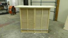 Home Bar Furniture, 54x24x42, 6 Shelves, Seats 3, S&H Incl
