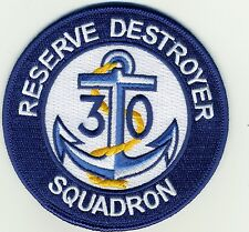 Reserve Destroyer Squadron 30 - BCPatch Cat. No. C7123
