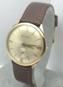 Vintage Waltham 531Y 49 Men's manual winding watch FHF 81 17Jewels swiss 1960s