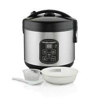 Hamilton Beach Digital Programmable Rice Cooker & Food Steamer, 8 Cups Cooked 4
