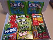 Apple and Watermelon American Sweet Gift Box  -Laffy taffy - Air head - nerds