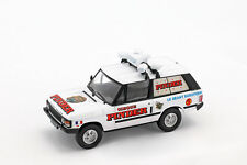 Range Rover Reklamewagen Pajarillaga Cirque Blanc / Rouge en blister 1 43 Direct