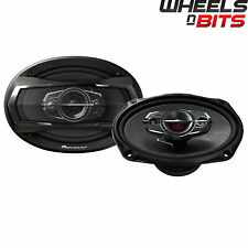 "Pioneer TS-A6924i 6x9"" 4 way Rear Shelf Car Speakers 600 Watts or 100 RMS Each"