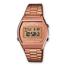 Reloj Unisex Hombre Mujer CASIO B640WC-5AEF VINTAGE Clásico Rose Acero