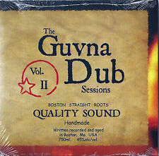 GUVNA DUB  CD Sealed Slipcase