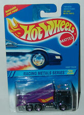 Hot Wheels Racing Metals Kenworth Ramp Truck Blue Chrome Sp7s #337 Malaysia 1995