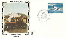 1980 POPE JOHN PAUL II TERESINA BRAZIL VISIT POST COVER