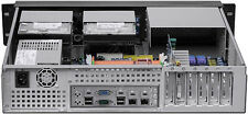 "2U LCD(ATX) (3Horizon-Riser)(2URPS)(D14.96"")(5.25""+7xHDD)Rackmount Door-Case NEW"