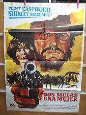 A3507 Dos mulas y una mujer Clint Eastwood,  Shirley MacLaine,  Manolo Fábregas,