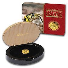 2013 1/10 oz Gold Lunar Year of the Snake Proof (Series II) - SKU #71328
