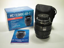 MC Helios-40-2-N f/1,5 85 mm portrait lens for Nikon mount, new design, NEW