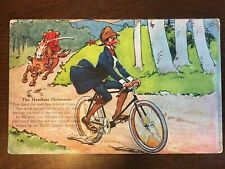 1910s Corbin Coaster Brake Bike Advertisment - The Headless Horseman / Ichabod