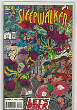 Sleepwalker #27 Marvel Comics (1991 series) NM