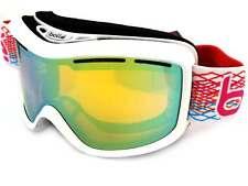 BOLLE MONARCH womens Snow Ski Goggles White Diamond Pink / Gold Mirror 20942
