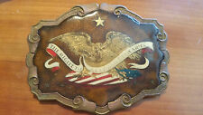 *EXTREMLY RARE*  2nd AMENDMENT BELT BUCKLE  - DEAN & ADAMS MINT PRIVATE EDITION!