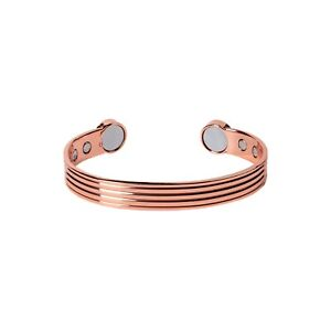 Copper Magnetic Bracelet Mens Ladies Bio Pain Relief Arthritis Healing Bangle