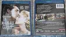1956 HITCHCOCK LA MAIN AU COLLET Grace Kelly Cart Grant BLU RAY NEUF sous cello