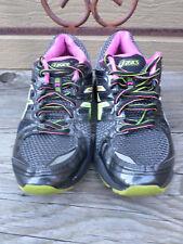 "ASICS ""Gel-Nimbus 14"" Black and Multi color Running Shoes.Women's 6.5 (eur 37.5)"