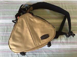 DSLR Camera Cases Sling Bag Compatible For 1 Camera, 2 Lens, Tripod, Rain Cover