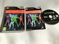 Just Dance 2 / Holographic Cover / Boxed & Instructions Nintendo Wii Game / PAL