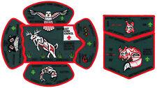 2017 Boy Scout Jamboree Northeast Iowa Council JSP CSP Patch Set Timmeu Lodge 74