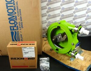 FLOMOTION ALP17 Industrial Roller PERISTALTIC Hose PUMP & Gear Drive -NEW in BOX