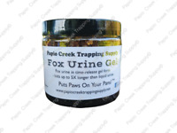 Fox Urine Gel Lure Trapping Hunting Trapper Trappers Scent Urines 16 Ounce